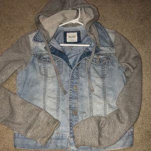 Denim light Jean jacket from mudd sz M NWT